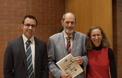 Das Autorenteam bestehend aus Titus J. Meier, Max Baumann und Astrid Baldinger Fuchs