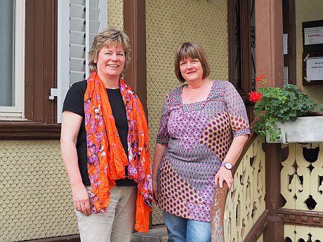 Ulrike Kirschbaum und Iris Bäriswyl