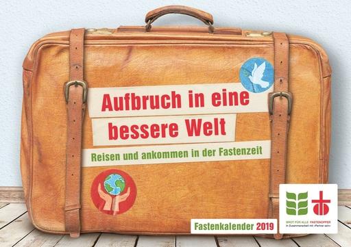 Der Koffer von Fastenopfer und Brot für alle