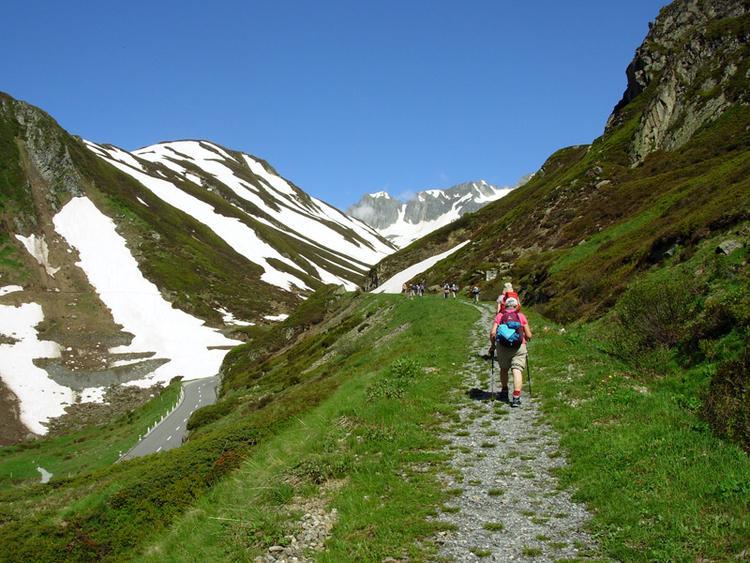 Unterwegs auf dem Pilgerweg