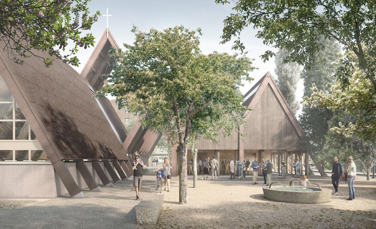 Visualisierung neuer Paulusplatz, Birrfeld