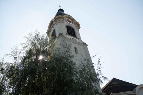 Kirchenturm St. Nikolaus in Brugg
