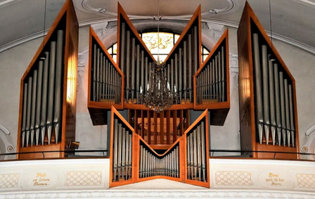 Grosse Orgel in der Kirche St. Nikolaus