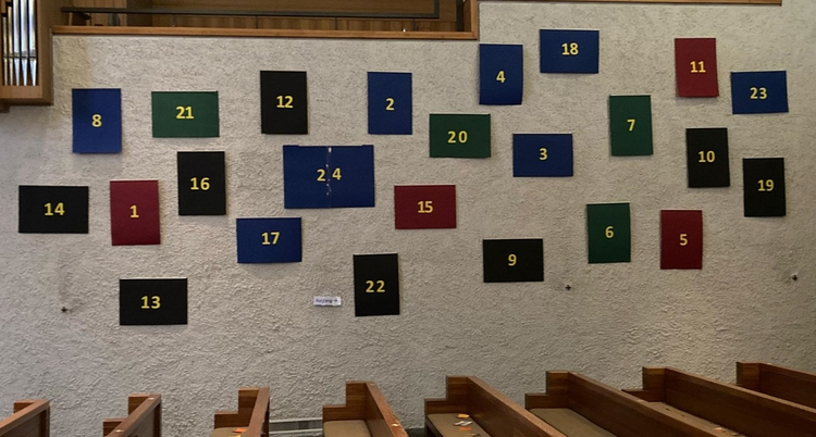 Adventskalender in der Kirche Windisch 2020