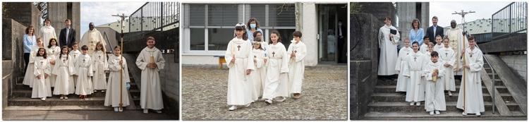 Erstkommunion 11. April 2021 in Windisch