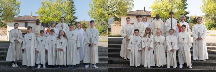 Unsere Erstkommunionkinder