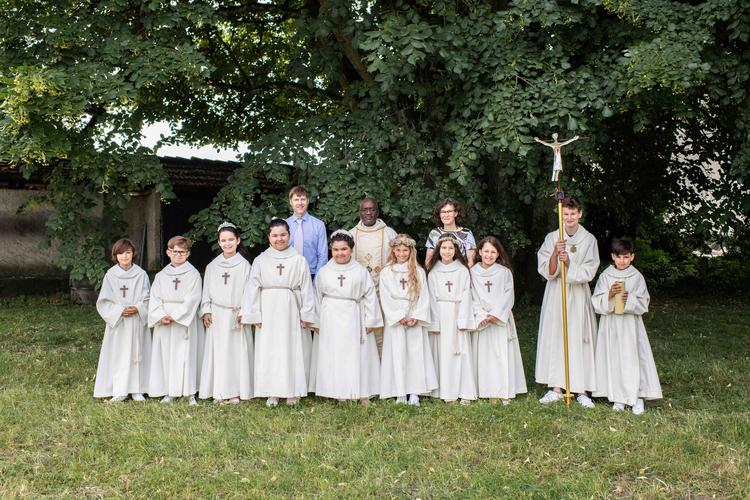 Erstkommunion 20. Juni 2021 in Windisch