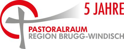 Das Logo unseres Pastoralraums mit dem zusätzlichen Schriftzug 5 Jahre.